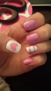 valentines nails pin