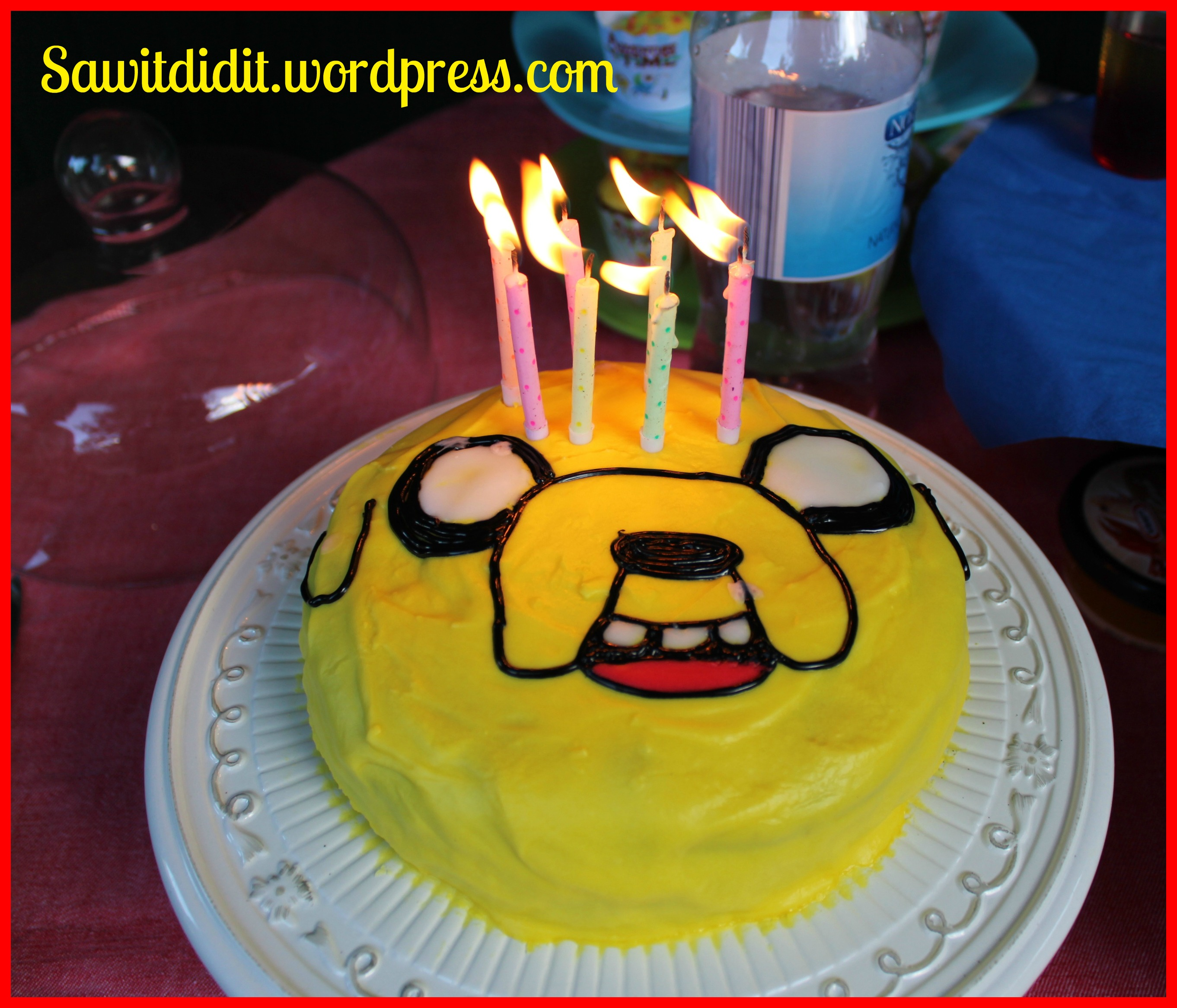 Miraculous Adventure Time Party For An 8 Year Old Saw It Pinned It Did It Funny Birthday Cards Online Alyptdamsfinfo
