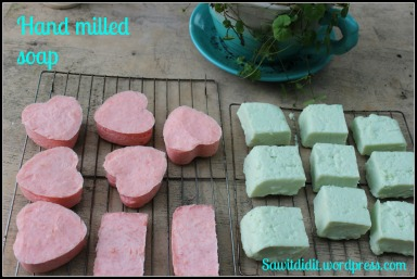 Hand milled soap 6