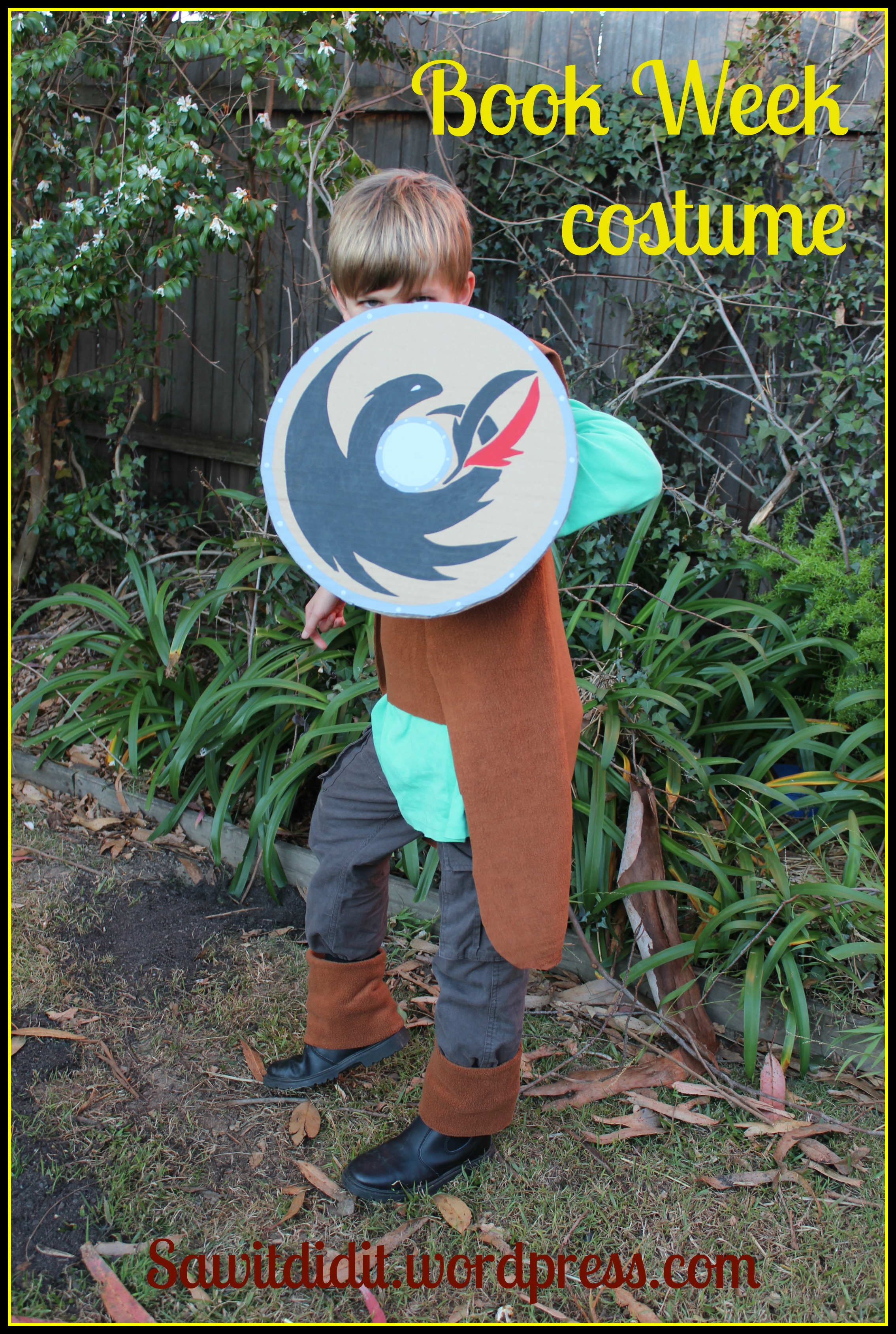 Book week costume hiccup from how to train your dragon saw it hiccup 2 ccuart Gallery