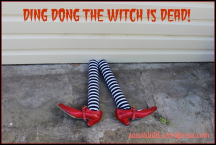 Ding, dong, the witch is dead!