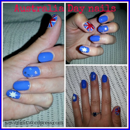 Australia Day nails sawitdidit.wordpress
