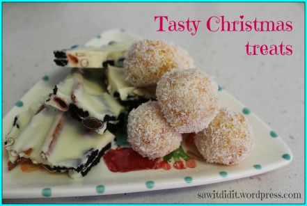 Tasty Christmas treats. sawitdidit.wordpress.com