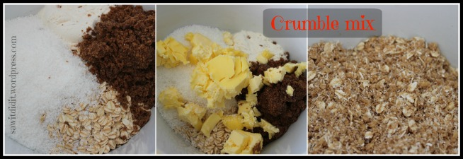 Crumble mix - sawitdidit.wordpress.com