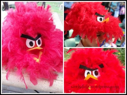 Easter Angry Bird Hat - sawitdidit.wordpress
