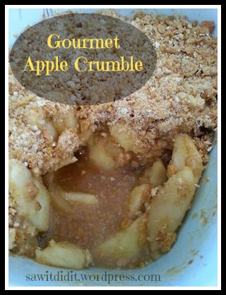 Gourmet apple crumble - sawitdidit.wordpress