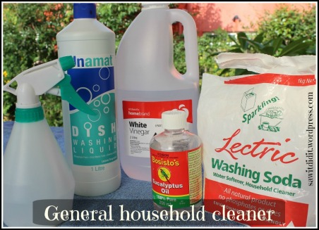 Homemade household cleaner. sawitdidit.wordpress.com
