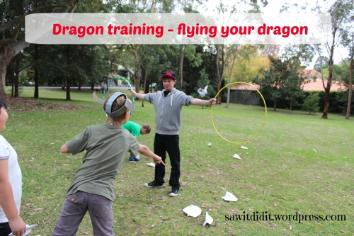 HTTYD party Dragon training . sawitdidit.wordpress.com