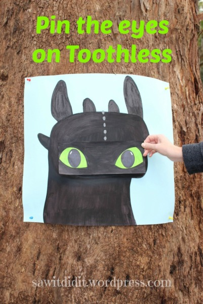 HTTYD party Pin the Eyes on Toothless . sawitdidit.wordpress.com