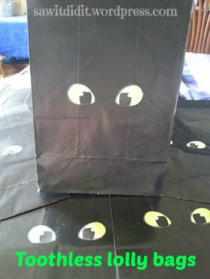 Toothless lolly bags ... sawitdidit.wordpress.com