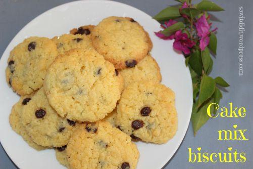 Cake mix biscuits . sawitdidit.wordpress.com