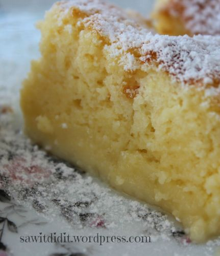 Lemon Magic Cake . sawitdidit.wordpress.com
