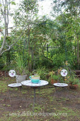 garden arch rehomed