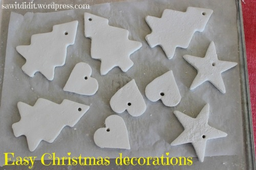 Christmas decorations - after baking . sawitdidit.wordpress.com