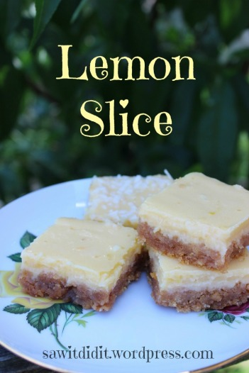 Saw it, Pinned it, Did it! - Delicious Lemon Slice
