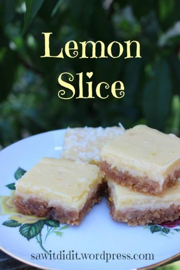 Saw it, Pinned it, Did it! - Delicious Lemon Slice