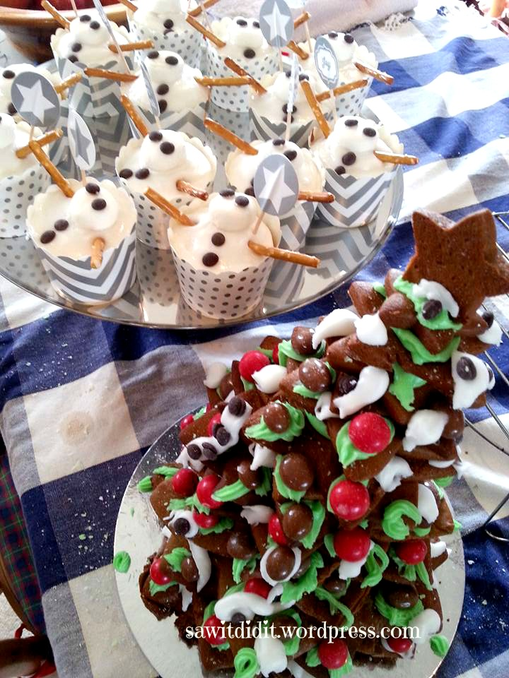 gingerbread and snowmen