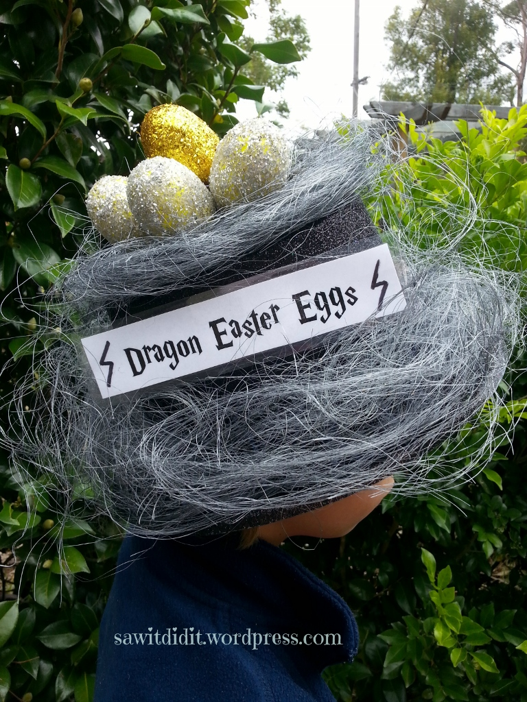 Easter hat for boys, Harry Potter inspired (768x1024)