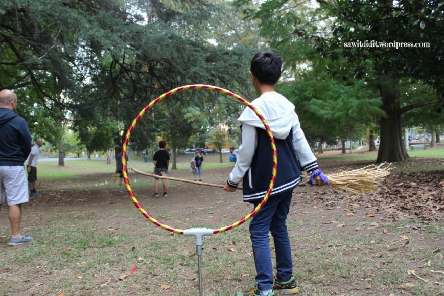 HP birthday party Quidditch 4