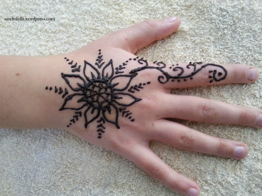 What Makes A Henna Tattoo Last Longer: School Holiday Activity – Henna Tattoos At Home
