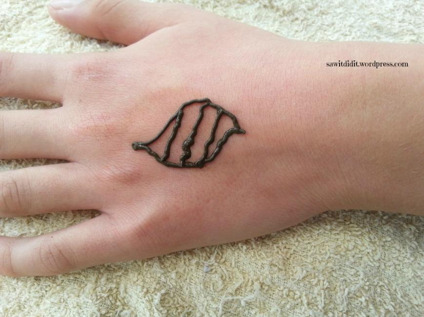 Henna tattoo Pokemon