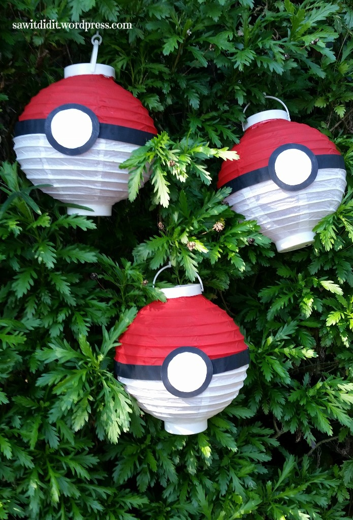 Pokeball decorations