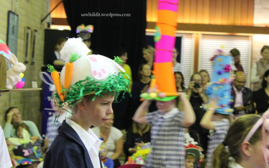 Easter Hat parade 1