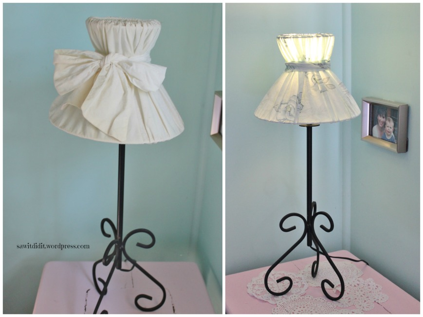 Lamp...before and after