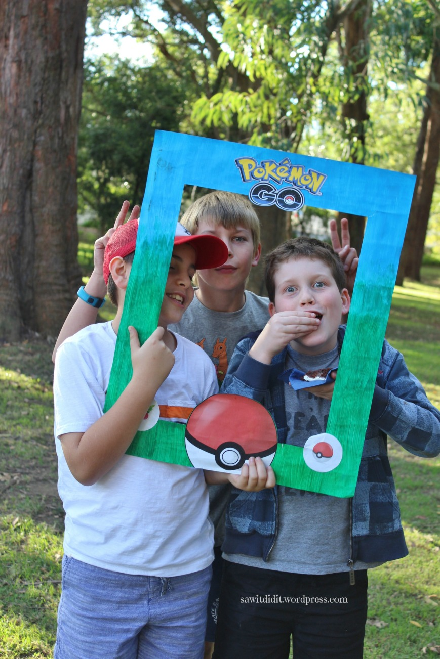 Pokemon photo frame group