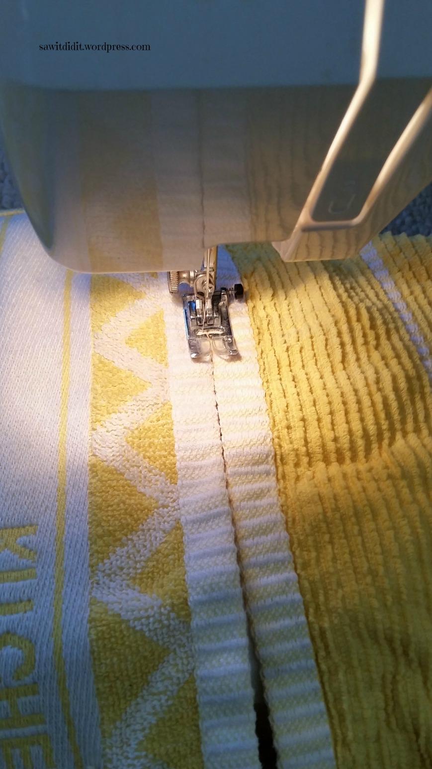 handtowel sewing
