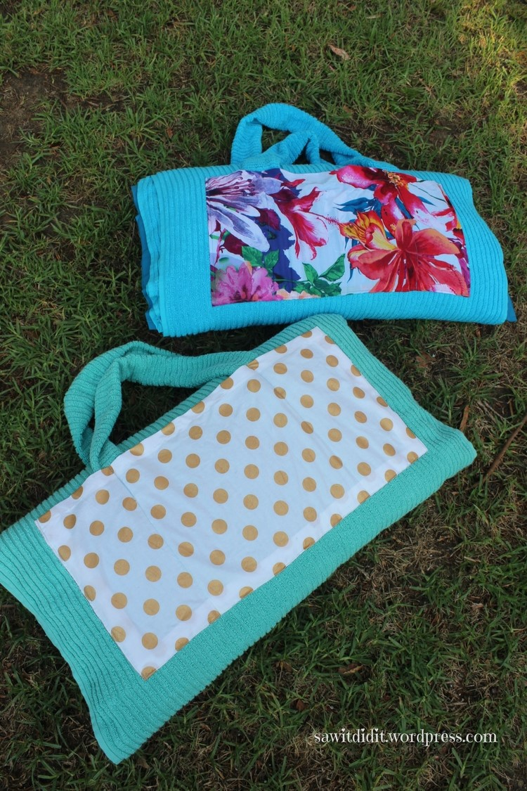 beach pillow towels