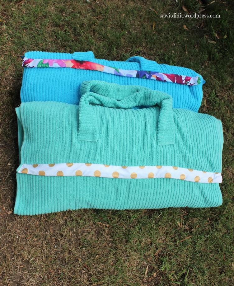 towels front