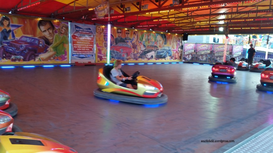 easter show dodgems