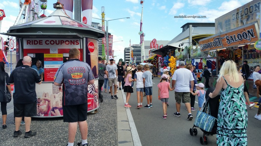 easter show ride alley