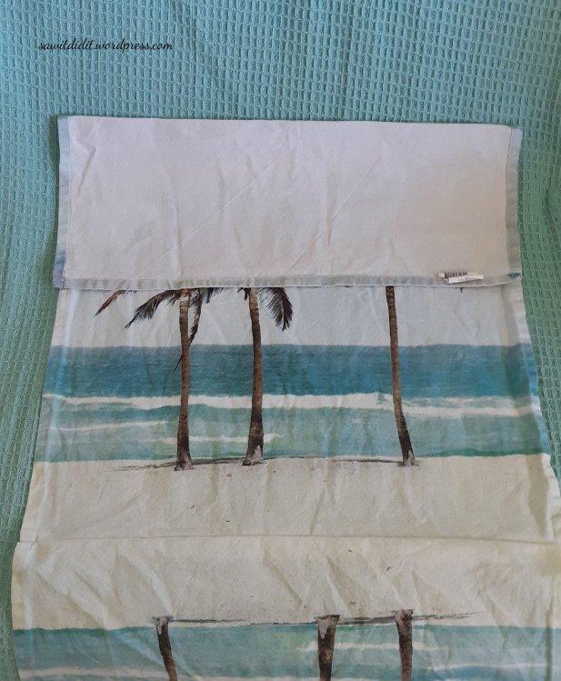 tea towel cushion cover 2