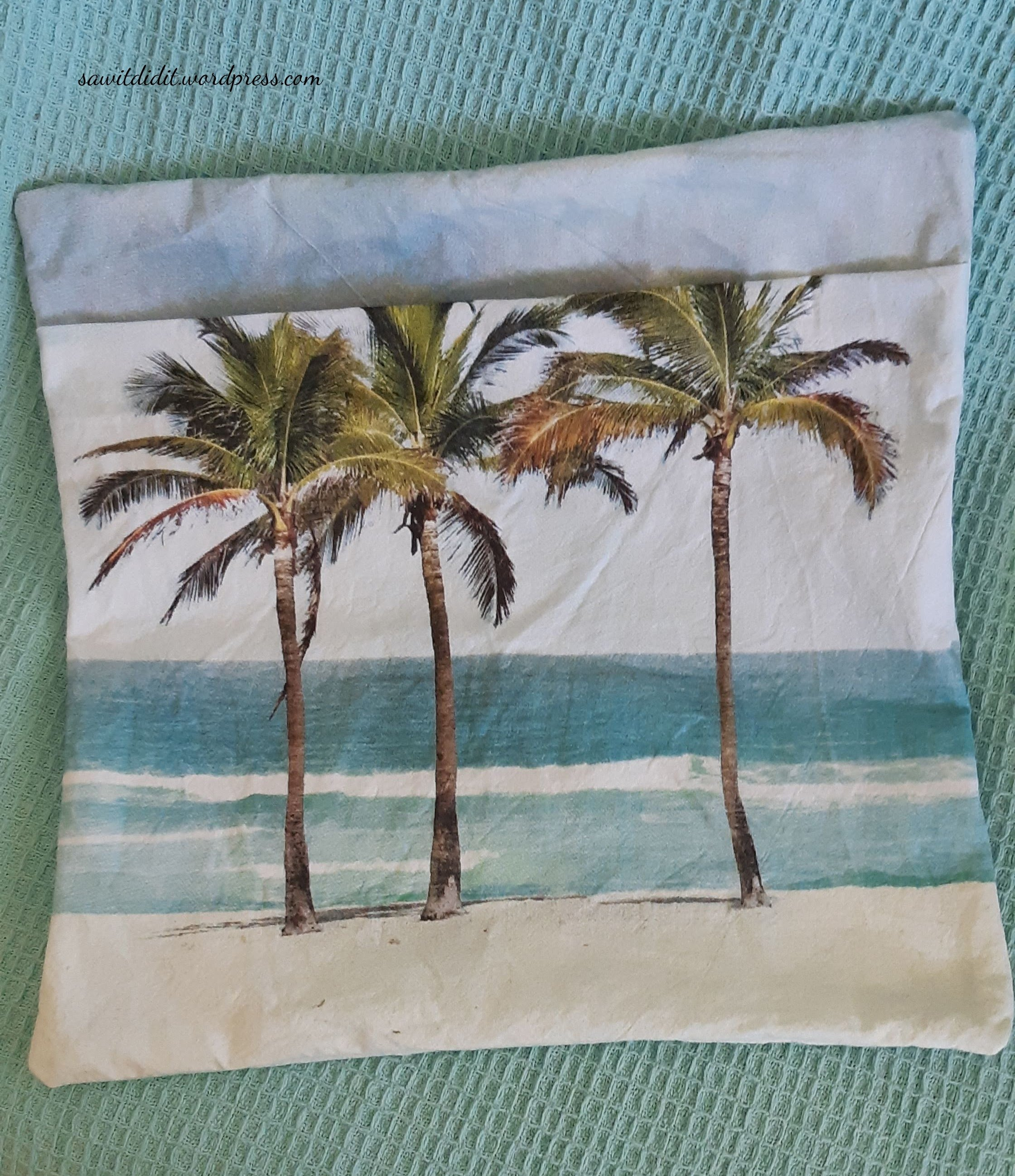 tea towel cushion cover 4