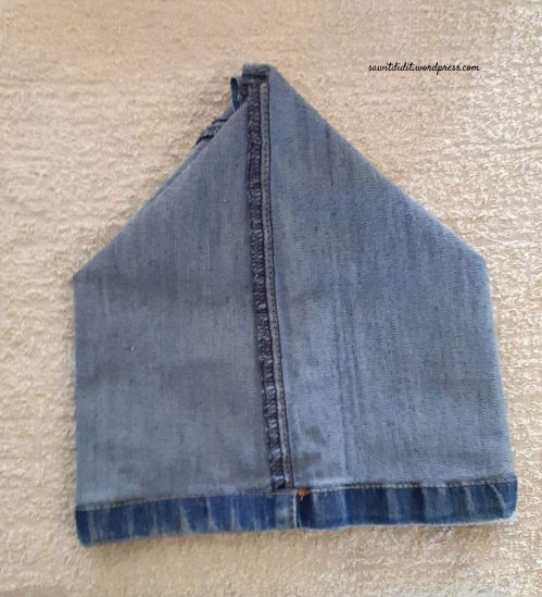 upcycled jean cutoff 2
