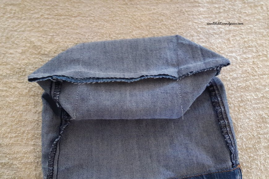upcycled jean cutoff 4